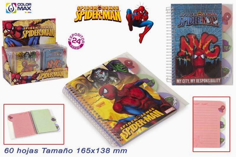 http://www.regalosbodasbautizoscomuniones.com/comuniones/1750-libreta-spiderman.html