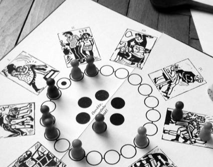 Šedá Barča - desková hra
