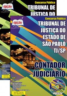 Apostila (ATUALIZADA) Concurso Tribunal de Justiça do Estado / SP (TJ/SP) CONTADOR JUDICIÁRIO 2015