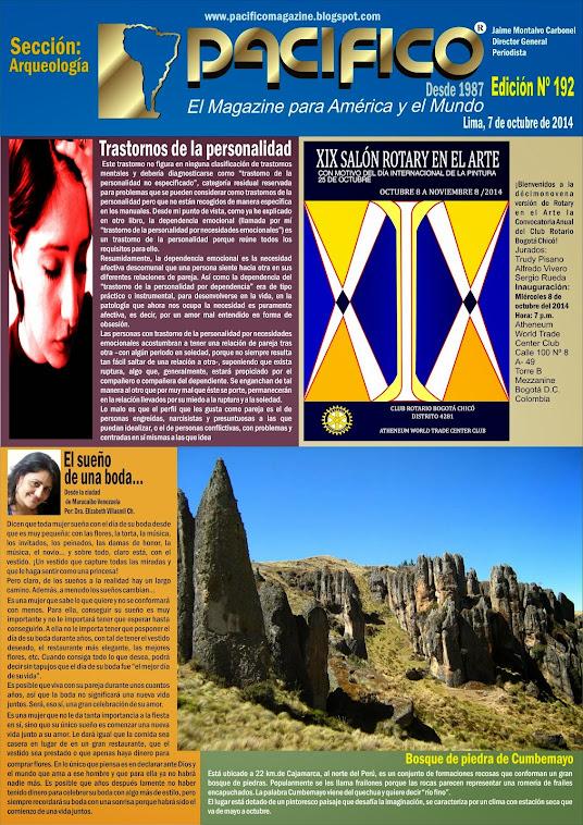Revista Pacífico Nº 192 Arqueología