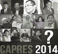 Bursa Calon Presiden RI Pada Pemilu 2014