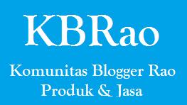 Produk Dan Jasa Komunitas Blogger Rao