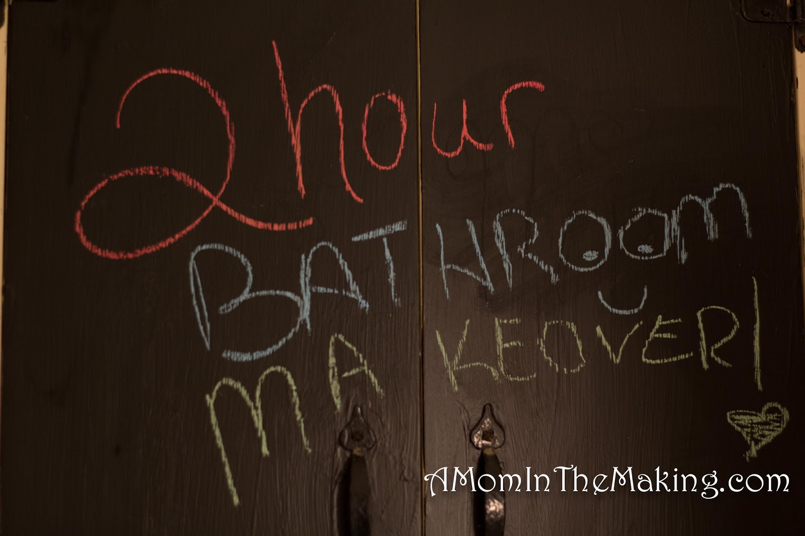 Bathroom Makeovers With Chalk Paint a mom in the making: diy makeover