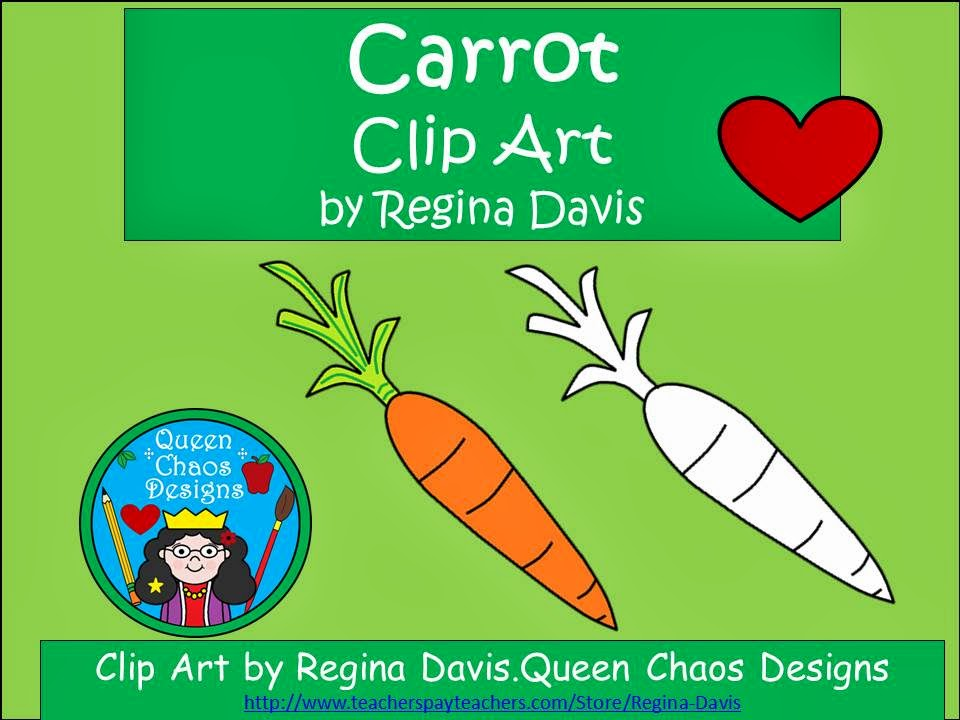 http://www.teacherspayteachers.com/Product/A-FREEBIE-Carrot-Clip-Art-1174760