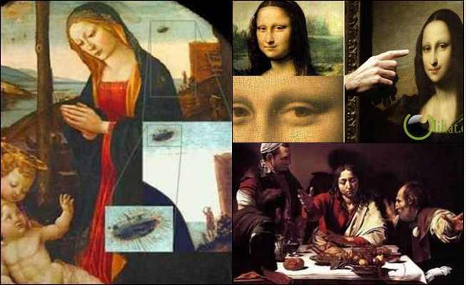 10 Penampakan Misterius di Lukisan Kuno Tokoh Terkenal
