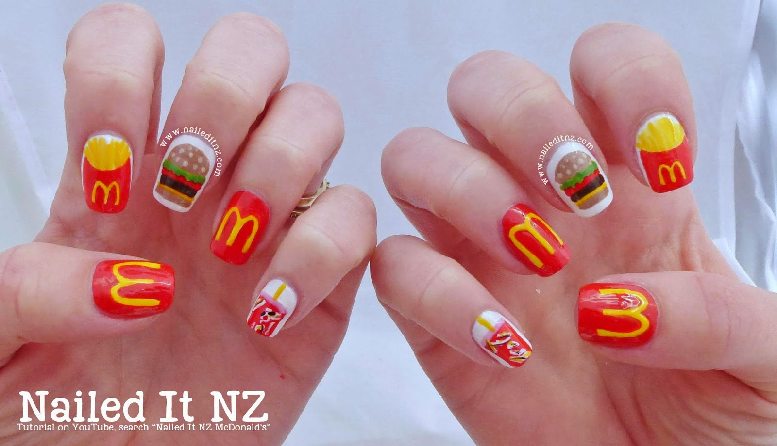 McDonald\'s Nail Art Tutorial