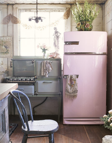 The vintage stove i heart shabby chic for Cocinas bonitas