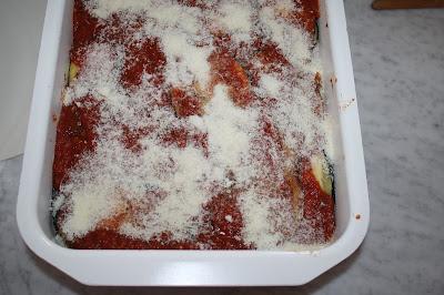parmigiana con melanzane
