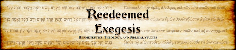 Reedeemed Exegesis