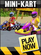 3d Minicart Yarışı Araba Yarışı