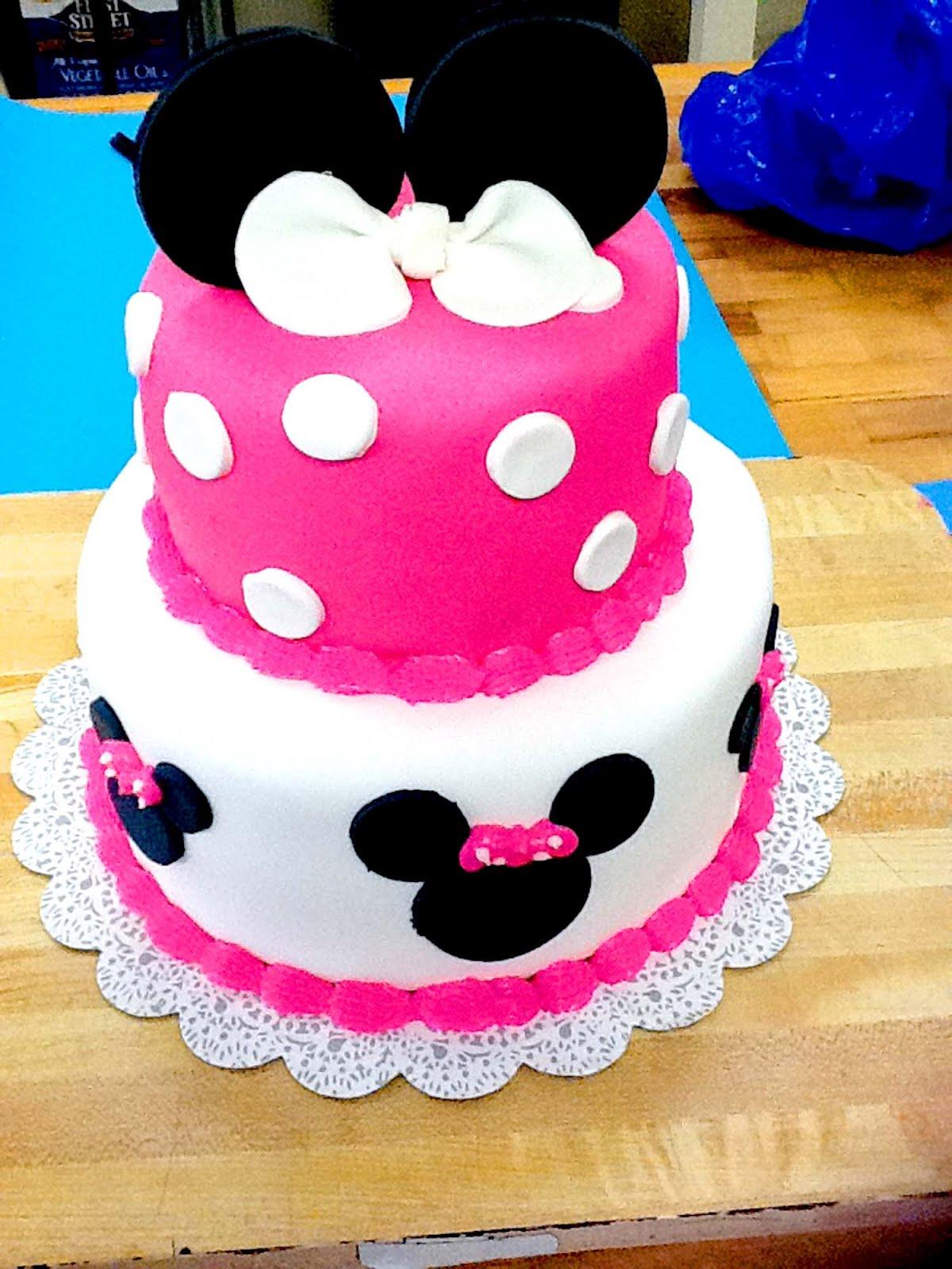 Hector s Custom Cakes Minnie Mouse Theme
