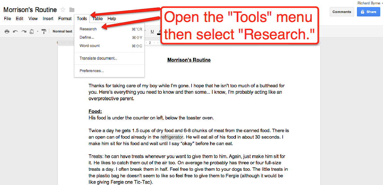 how to use the same footnote twice in google docs