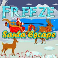 WowEscape Freeze Santa Escape
