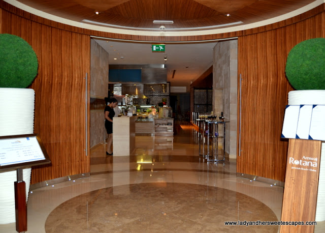 Horizon restaurant in Amwaj Rotana