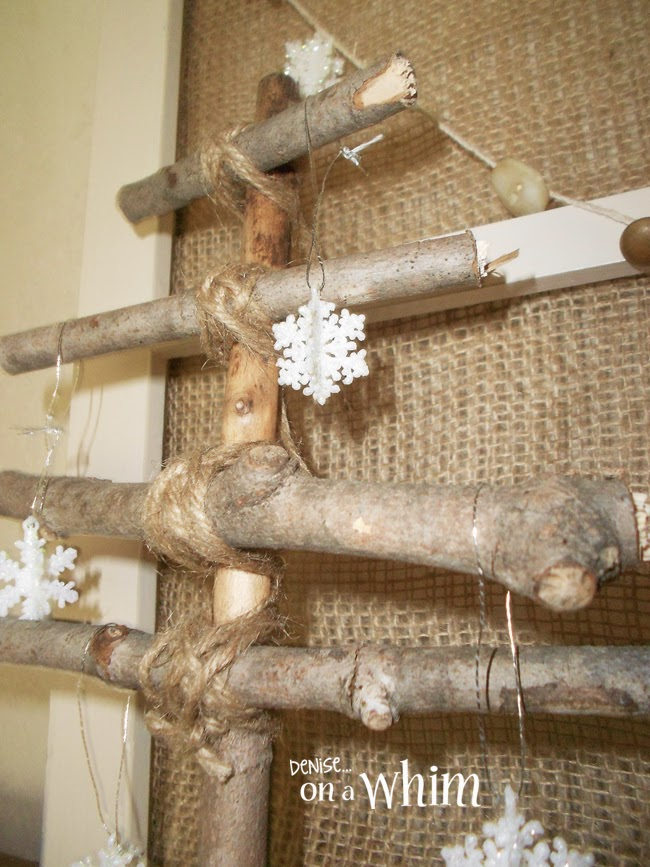 Twig Christmas Tree from Denise on a Whim