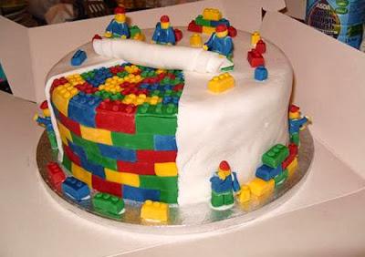 Bánh gato từ game xếp hình Lego