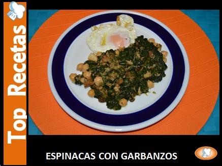ESPINACAS CON GARBANZOS