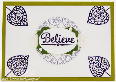 Layered Leaves from Stampin' Up! UK - get the stamps here from September 2015