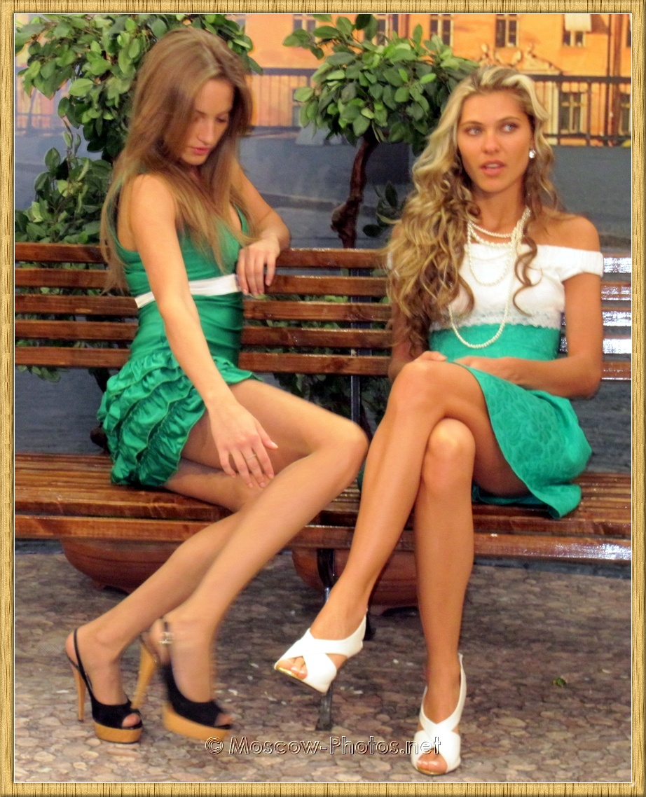 Long Legs Moscow Blonde Models