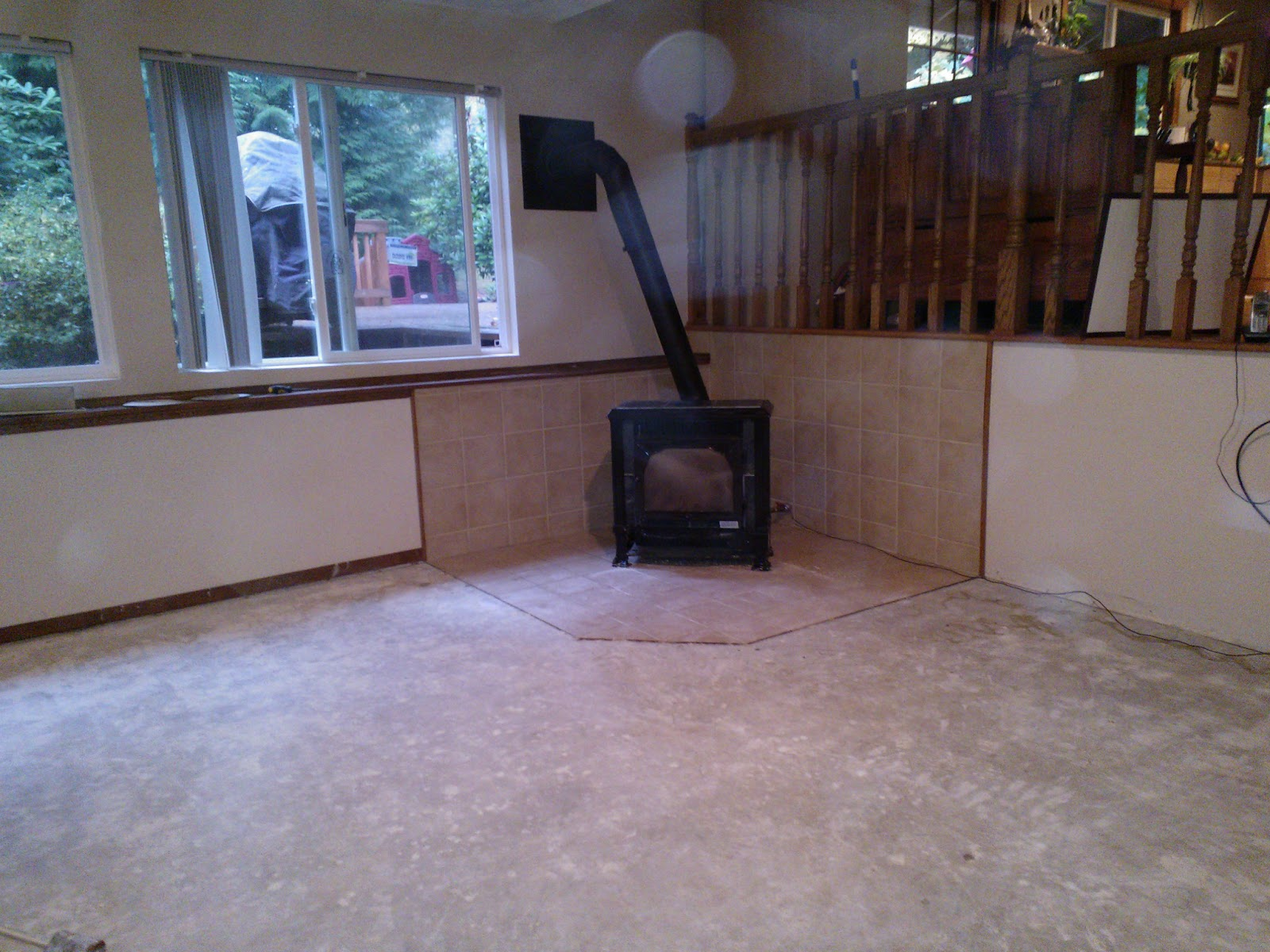 Angie 39 s suburban oasis and northwest cavegirls play room for Northwest flooring