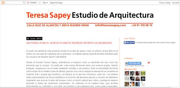 Teresa Sapey Estudio de Arquitectura