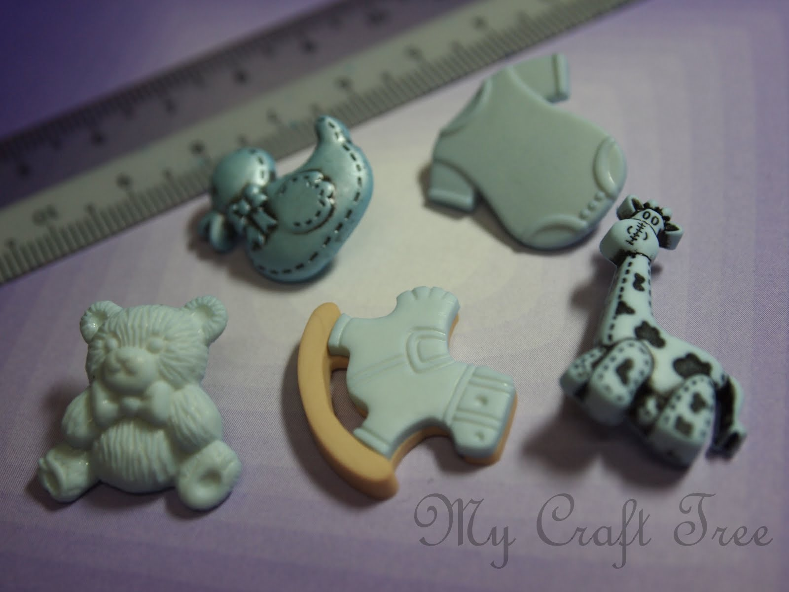 my craft tree baby shower buttons