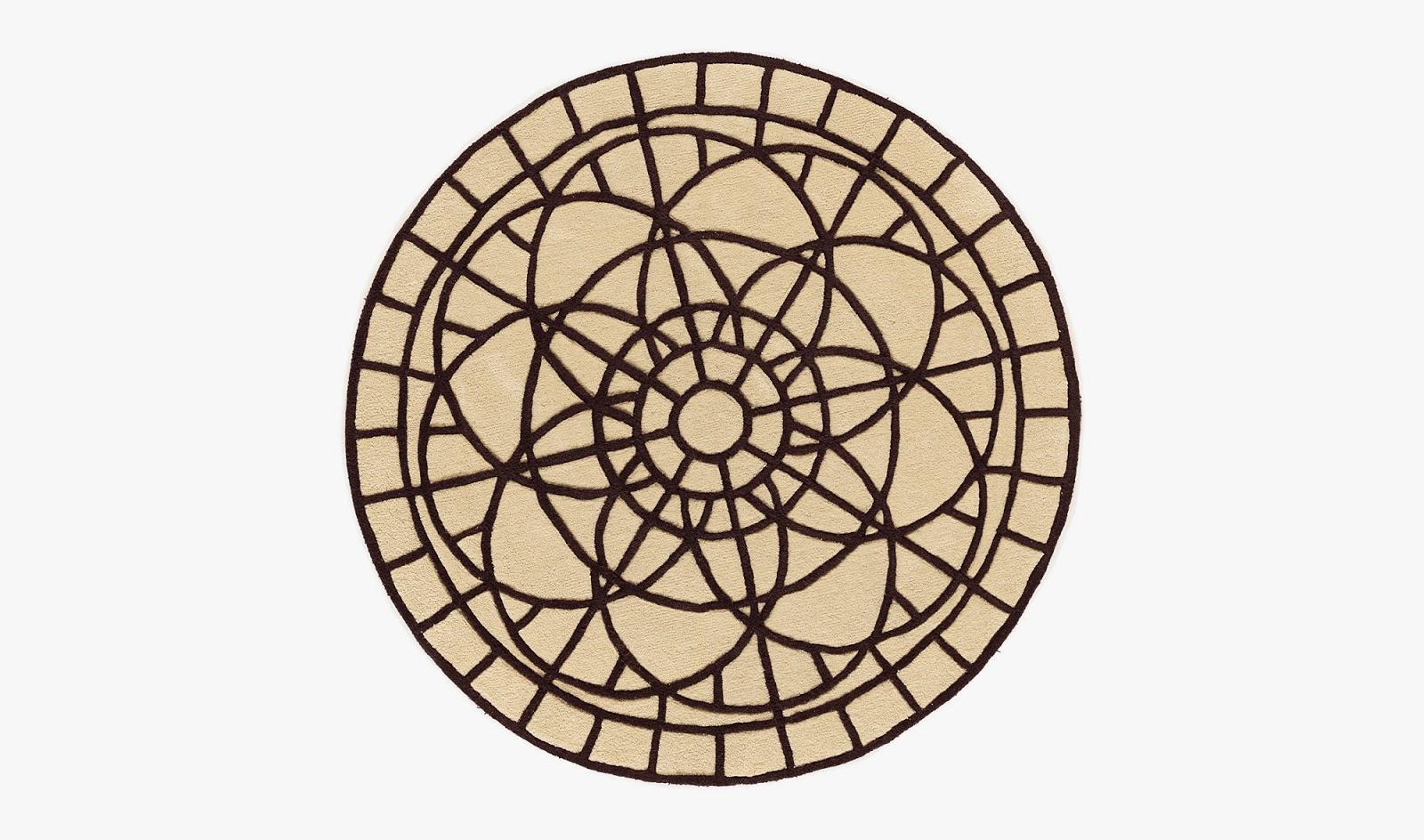 Alfombras para el sal n - Alfombras dibujos geometricos ...