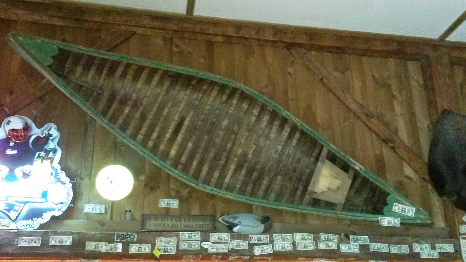 cedar-canvas solo canoe