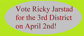 Ricky Jarstad for Alderman