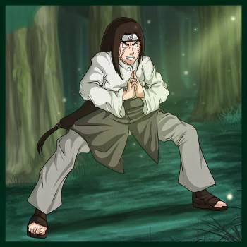 Como Desenhar o Neji (Naruto Shippuuden)