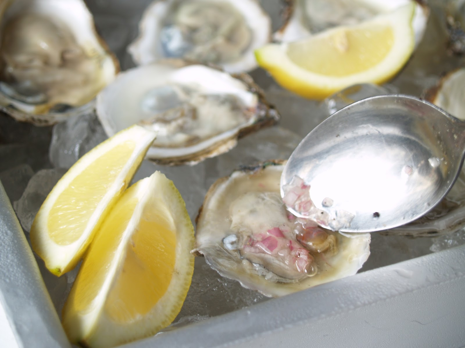 ... but enough oyster talk here s the recipe for a simple mignonette sauce