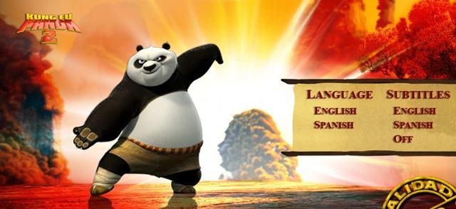 Capturas Kung Fu Panda 2 2011 [DVDR Menu Full] Español Latino [ISO] NTSC Descargar
