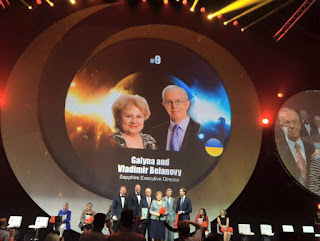 Global Top 15 Oriflame #9 Ukraine Galyna And Vladimir Belanovy (Sapphire Executive Director)