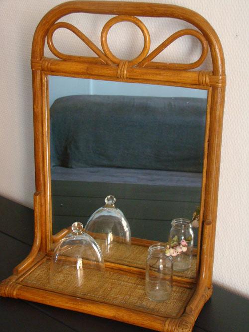 room1164deco un miroir vintage le plein de charme room1164. Black Bedroom Furniture Sets. Home Design Ideas
