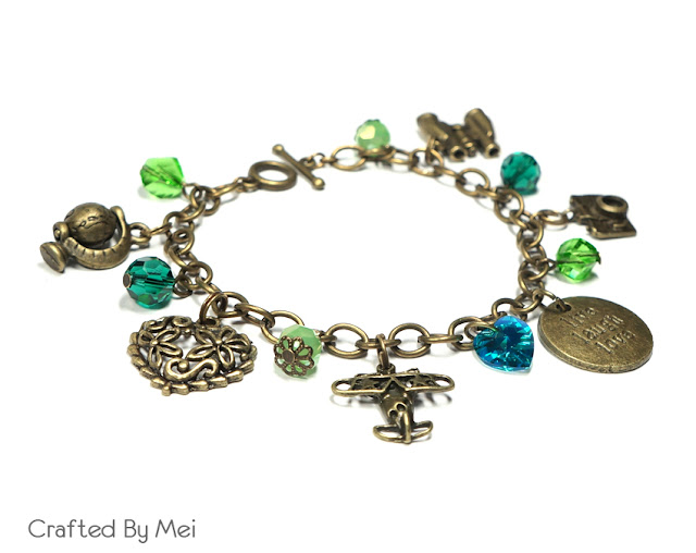 travel Beaded Charm Bracelets