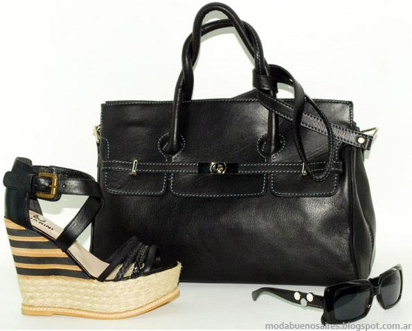 Chiarini carteras, sandalias. Moda 2013