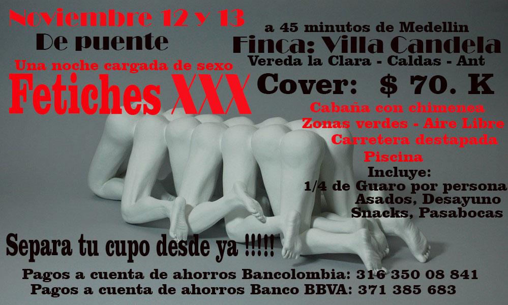 12 y 13 de Noviembre !!! Otra fiesta en el sur del área de Medellin..... Que no te la cuenten.....