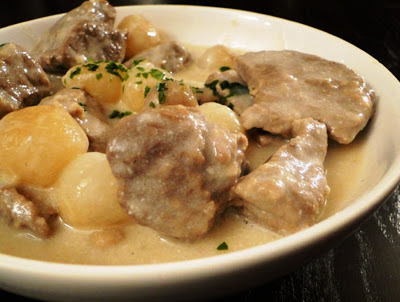 Blanquette de Veau (White Veal Stew)
