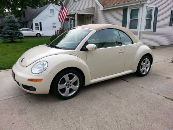 used 2006 volkswagen beetle convertible by owner. Black Bedroom Furniture Sets. Home Design Ideas