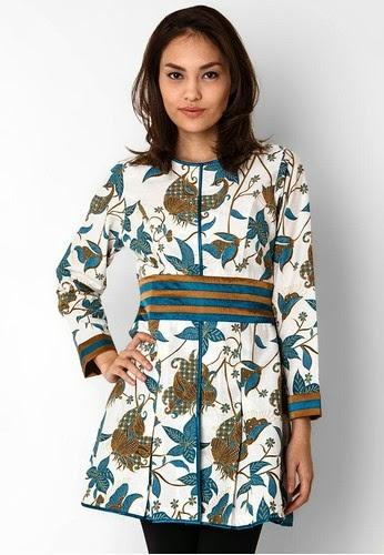 Contoh Model Baju Batik Kerja Wanita Model Baju Terbaru