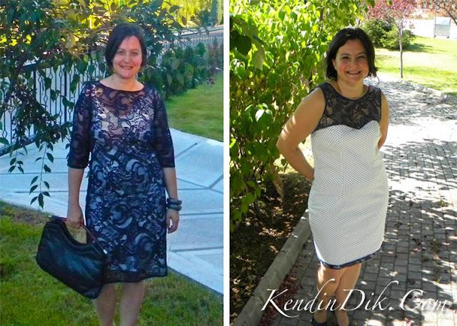 dantel elbise elbiselerde dantel detayı