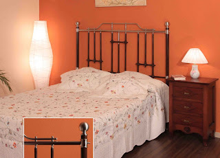 cabezal cama forja, cabezal abuela, cabecero clasico, cabecero barroco
