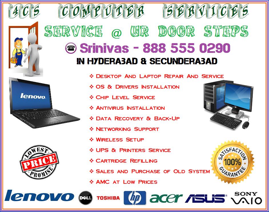 Computer service @ door Steps