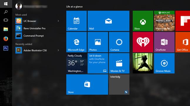 Beberapa Pengaturan Yang Bisa Di Terapkan Pada Windows 10