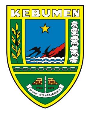 logovectorcdr logo kabupaten kebumen