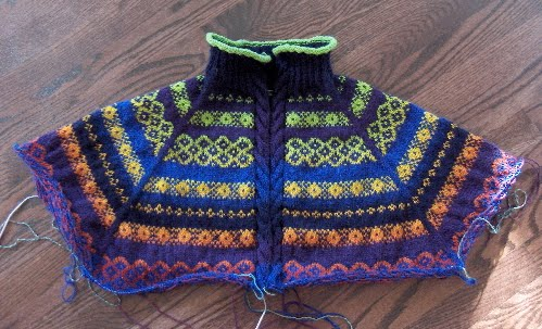 Knitting Patterns Free: fair isle knitting
