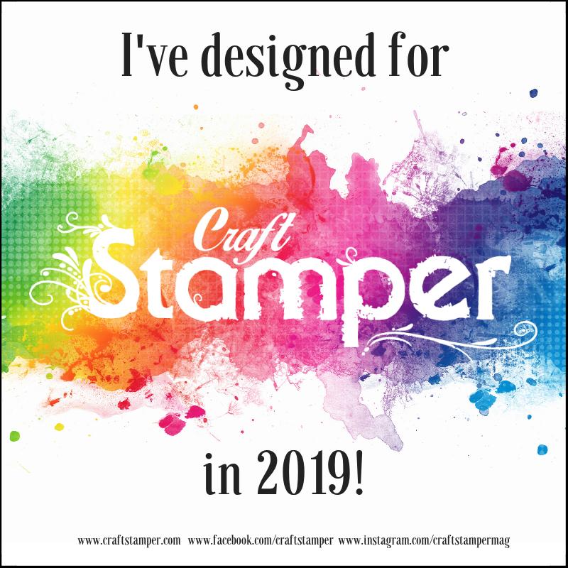 Publikuję w magazynie Craft Stamper