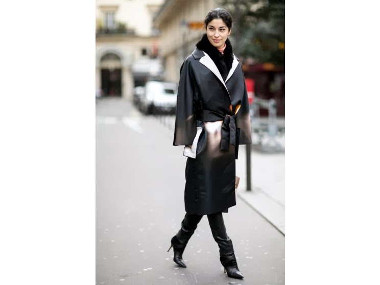 Soho Noho Women Street Style Paris Fashion Week 2014