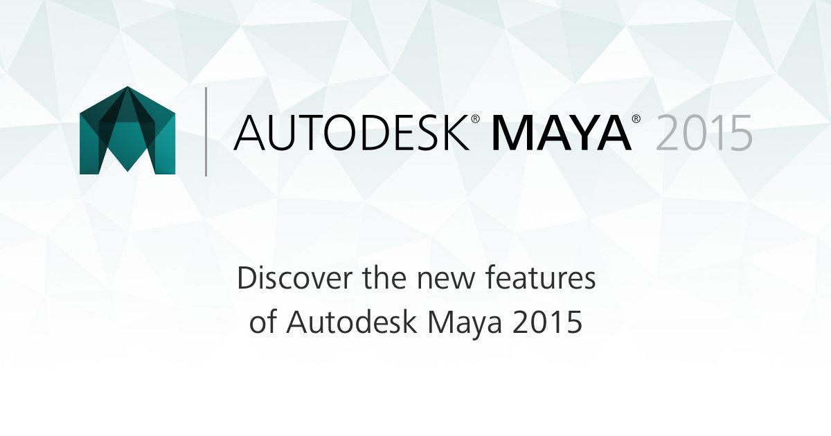 Autodesk Maya 2015 full