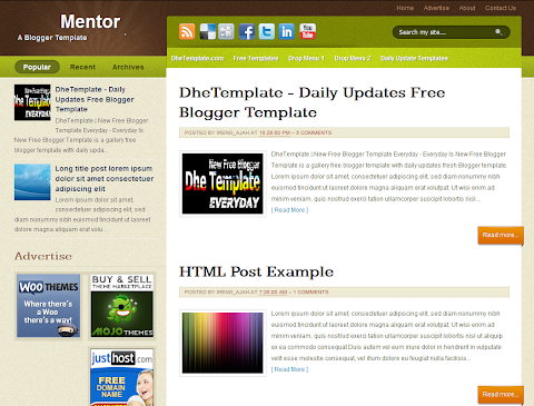 Mentor Blogger Theme